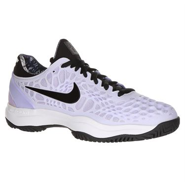 Nike Zoom Cage 3 Womens Tennis Shoe - Purple Agate/Black/White/Hyper Crimson