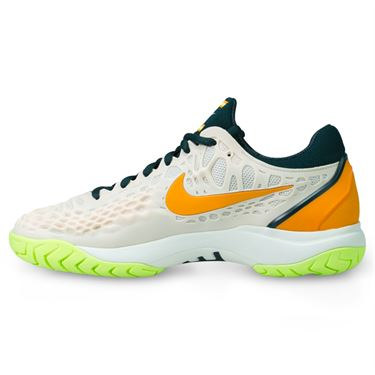 Nike Zoom Cage 3 Womens Tennis Shoe - Guava Ice/Midnight Spruce/Orange Peel