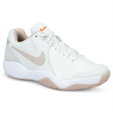 Nike Air Zoom Resistance Womens Tennis Shoe - Phantom/Particle Beige/Sail/Orange Blaze