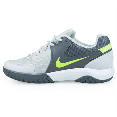 Nike Air Zoom Resistance Womens Tennis Shoe - Vast Grey/Volt Glow/Gunsmoke/White