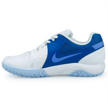 Nike Air Zoom Resistance Womens Tennis - White/Monarch Purple/Military Blue