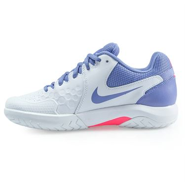Nike Air Zoom Resistance Womens Tennis Shoe - White/Purple Slate/Racer Pink