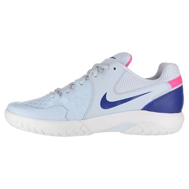 Nike Air Zoom Resistance Womens Tennis Shoe - Half Blue/Indigo Force/Pink Blast/White