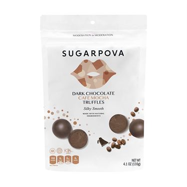 Sugarpova Truffles Dark Chocolate Cafe Mocha Brown