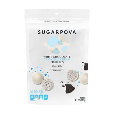 Sugarpova Truffles White Chocolate/Cookies & Cream Blue