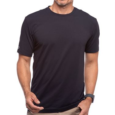 IBKUL Short Sleeve Crew Mens Black 92199 BLK