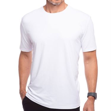 IBKUL Short Sleeve Crew Mens White 92199 WHT