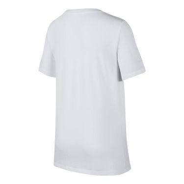 Nike Boys Sportswear Tee - White/Cone
