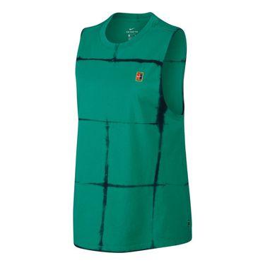 Nike Court Tie Dye Muscle Tank - Neptune Green