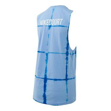 Nike Court Tie Dye Muscle Tank - Royal Tint