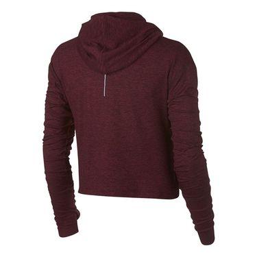Nike Element Jacket - Burgundy Crush/Red Heather