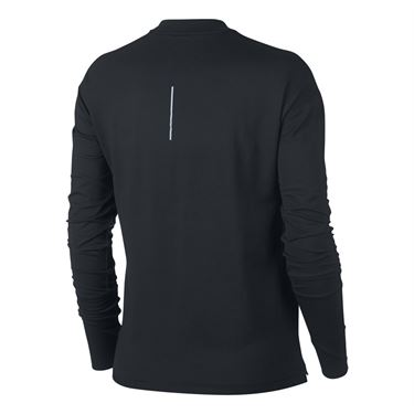 Nike Element Long Sleeve Top - Black