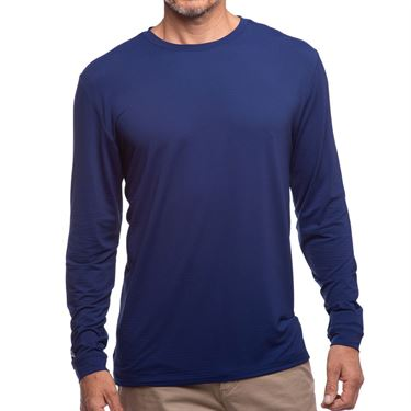 IBKUL Long Sleeve Crew Mens Ink 93199 INK