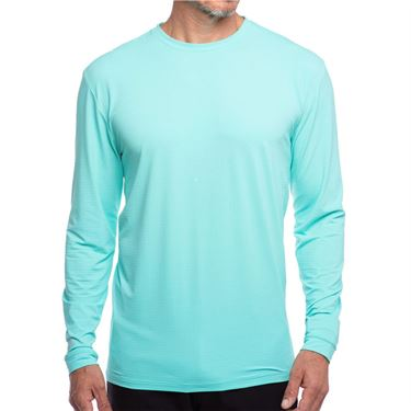 IBKUL Long Sleeve Crew Mens Mint 93199 MIN