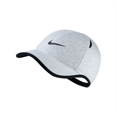 Nike Aerobill Featherlight Hat - Birch Heather/Black