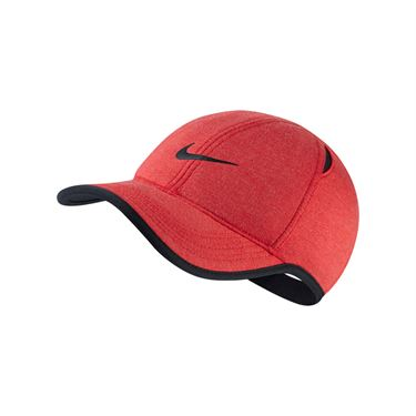 Nike Aerobill Featherlight Hat - Light University Red Heather/Black