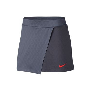 Nike Court Dry Maria Skirt - Light Carbon/Bright Crimson