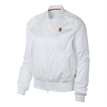 Nike Court Jacket - White/Gold Leaf