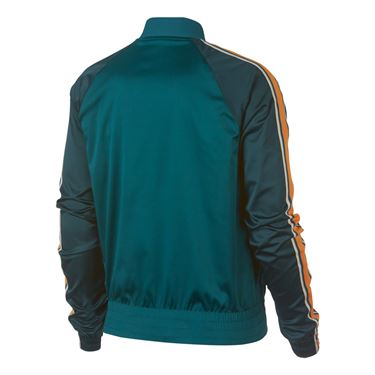 Nike Court Jacket - Rainforest/Orange Peel