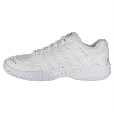 K Swiss Hypercourt Express Womens Tennis Shoe - White/Highrise