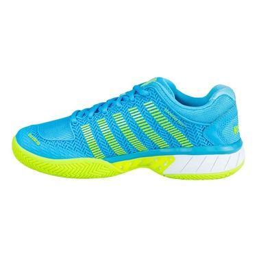 K Swiss Hypercourt Express Womens Tennis Shoe - Aqua/White/Citron