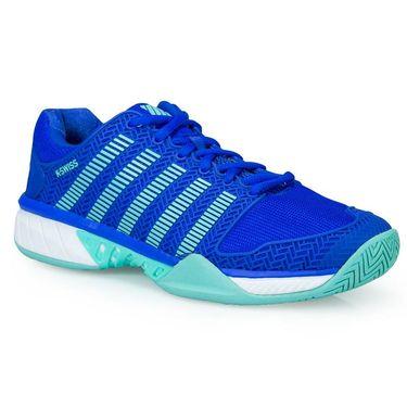 K Swiss Hypercourt Express Womens Tennis Shoe - Dazzling Blue/Aruba Blue