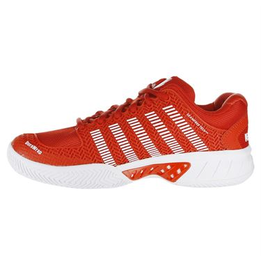 K Swiss Hypercourt Express Womens Tennis Shoe - Fiesta/White