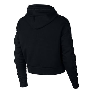 Nike Court Hoodie - Black/White