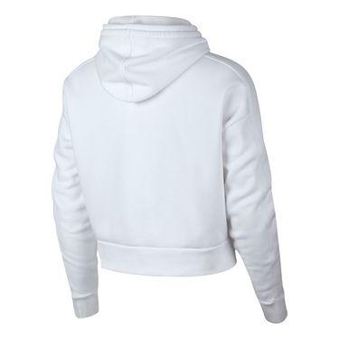 Nike Court Hoodie - White/Gridiron