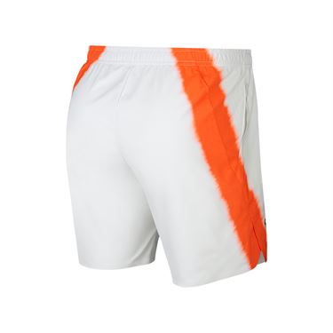 Nike Court Flex Rafa Ace Short - White/Crimson/Gridiron