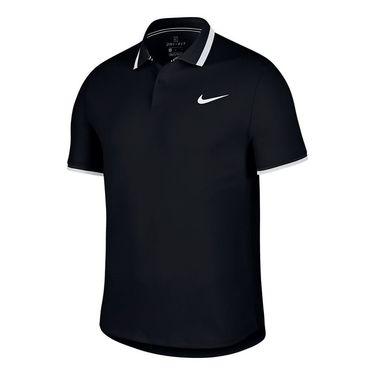 Nike Court Advantage Polo - Black/White