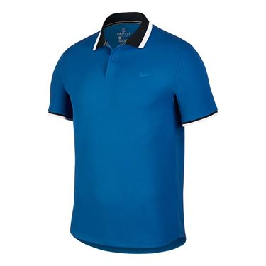Nike Court Advantage Classic Polo - Military Blue