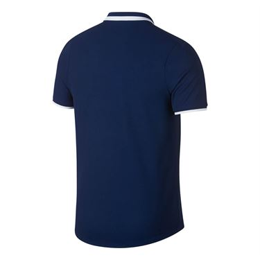 Nike Court Advantage Classic Polo - Blue Void