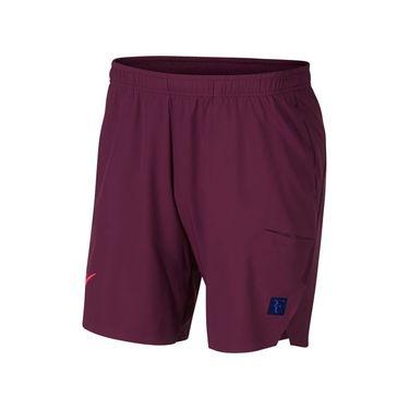 Nike Court Flex RF Ace Short - Bordeaux/Bright Crimson