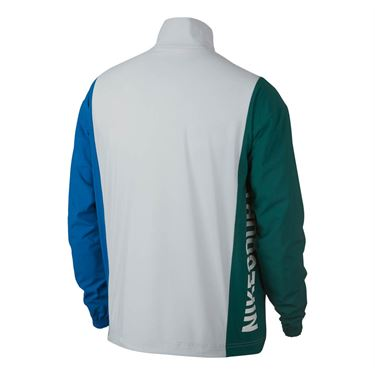 Nike Court Repel Jacket - Pure Platinum/Rain Forest