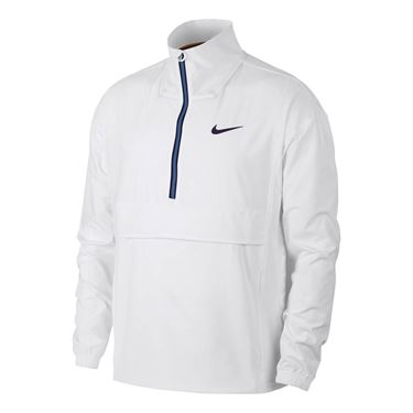 Nike Court Repel Jacket - White/Blackened Blue