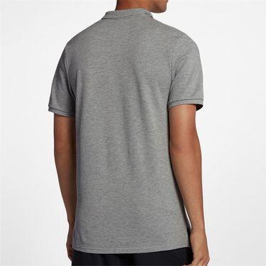 Nike Court Polo - Dark Grey Heather/White