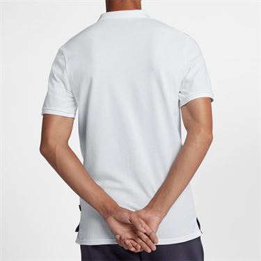 Nike Court Polo - White