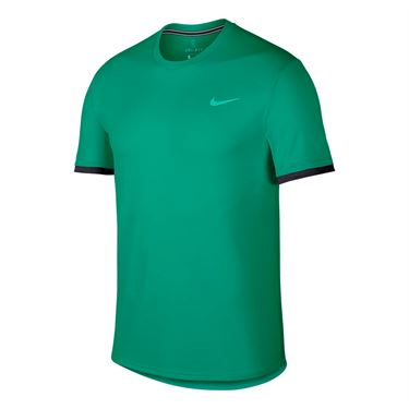 Nike Court Dry Crew - Lucid Green/Oil Grey