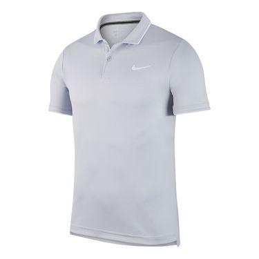 Nike Court Dry Polo Mens Skye Grey/White 939137 042
