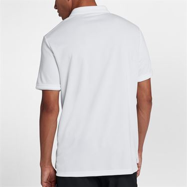 Nike Court Dry Team Polo - White