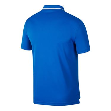 Nike Court Dry Team Polo - Signal Blue/White