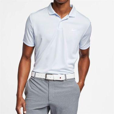 Nike Court Dry Polo - Half Blue/White