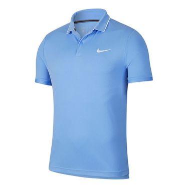 Nike Court Dri Fit Polo Shirt Mens Royal Pulse/White 939137 478