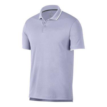 Nike Court Dry Team Polo - Oxygen Purple/White