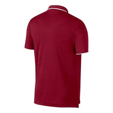 Nike Court Dry Team Polo - Team Crimson/White