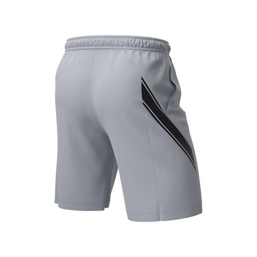 Nike Court Dry 9 inch Short Mens Sky Grey/Black 939265 042