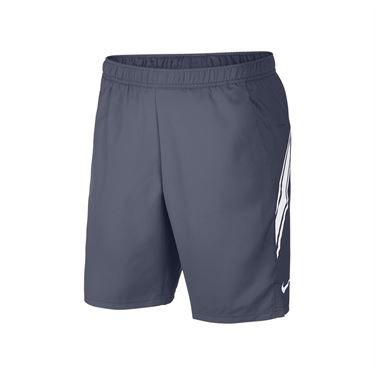 Nike Court Dry Short - Light Carbon/White