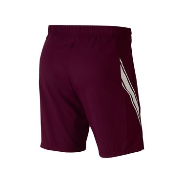 Nike Court Dri Fit Short Mens Bordeaux/White 939265 610