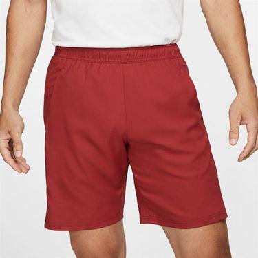 Nike Court Dry Short - Team Crimson/Black